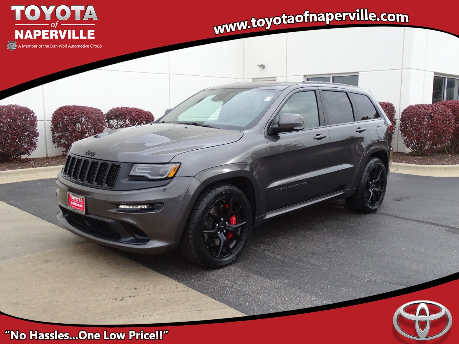 Pre Owned 2016 Jeep Grand Cherokee SRT 4D Sport Utility in