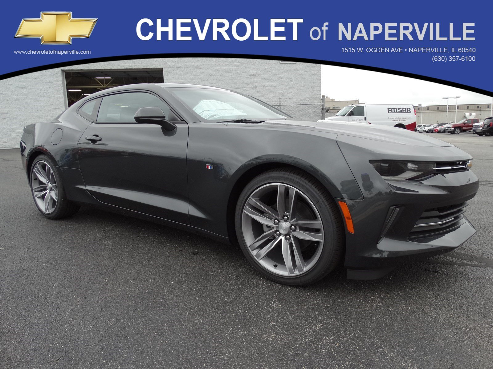 New 2018 Chevrolet Camaro Lt 2dr Car In Naperville C5758