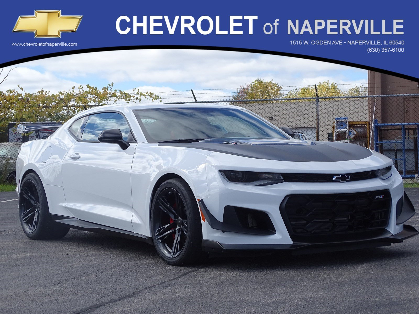 New 2019 Chevrolet Camaro Zl1 2dr Car In Naperville C6129