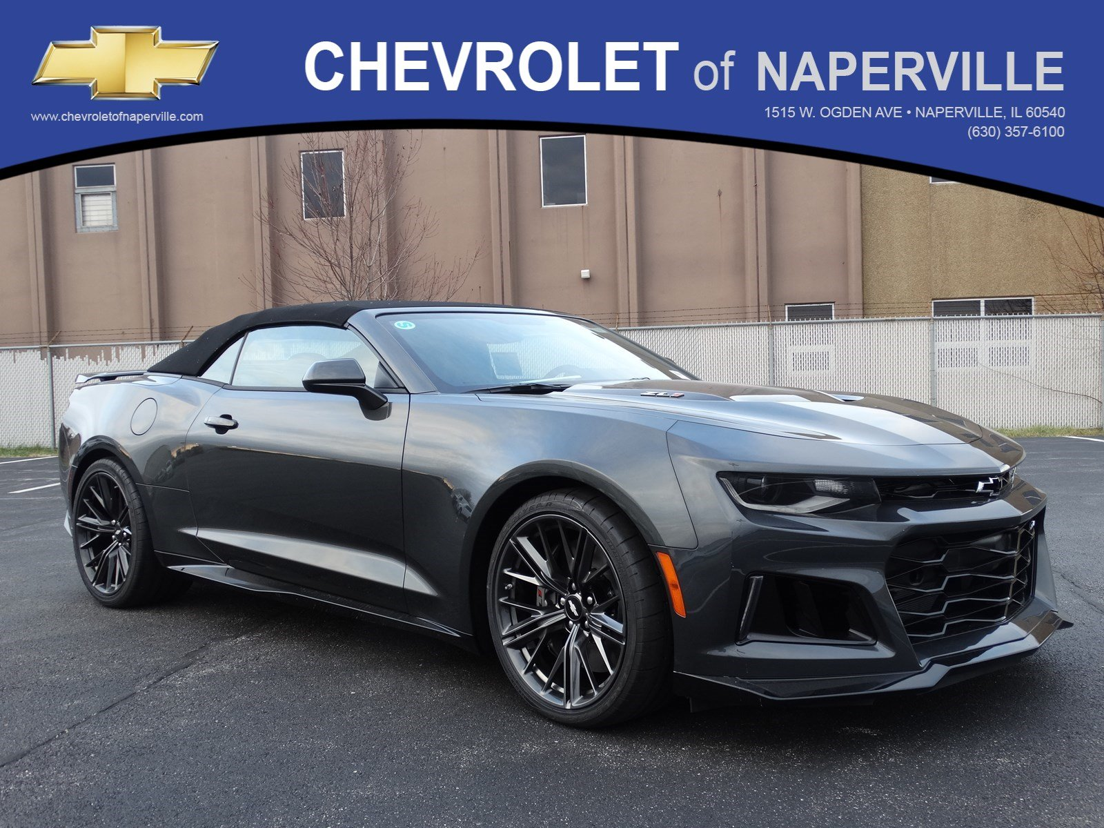new 2018 chevrolet camaro zl1 convertible in naperville. Black Bedroom Furniture Sets. Home Design Ideas