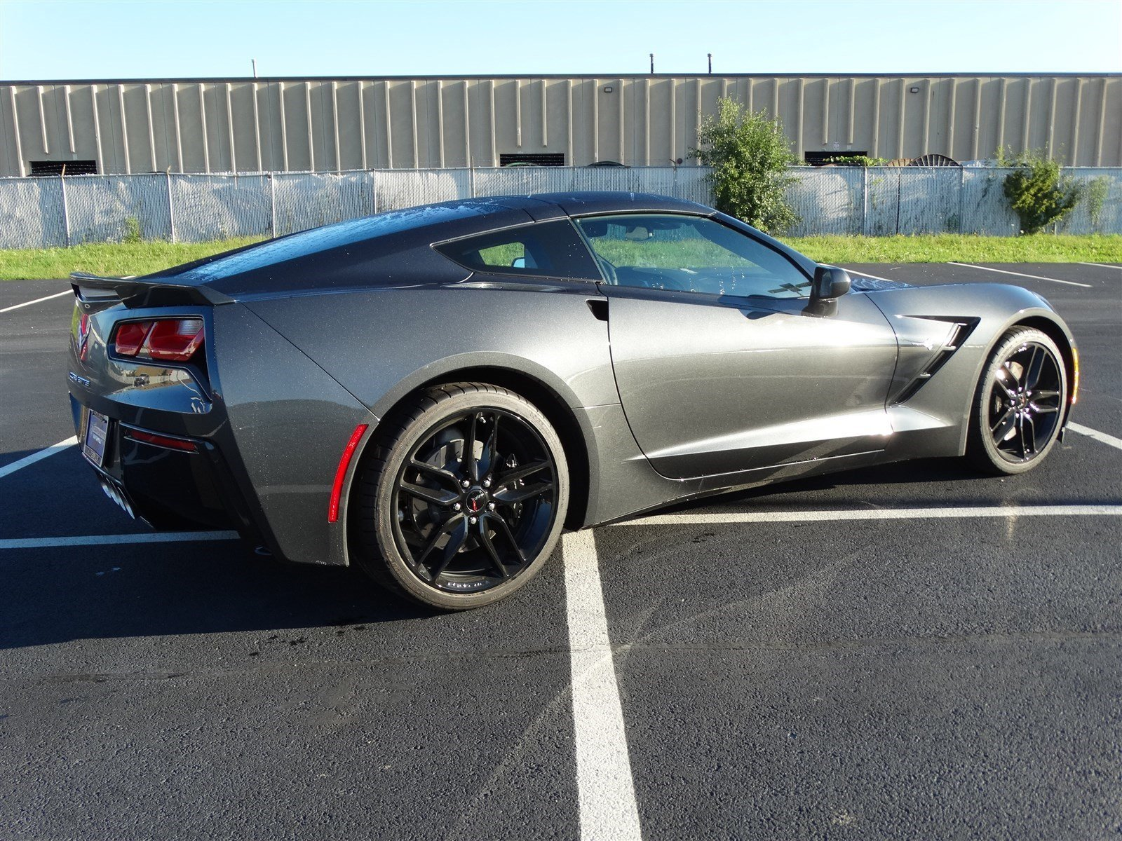 new 2017 chevrolet corvette 2lt coupe w z51 8 spd auto black rims removable roof 460hp. Black Bedroom Furniture Sets. Home Design Ideas