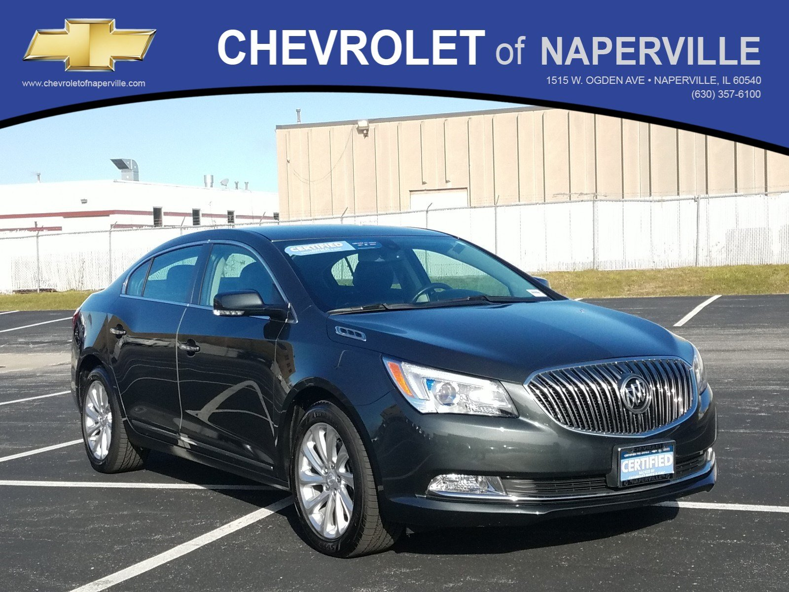 Certified Pre-Owned 2014 Buick LaCrosse Leather