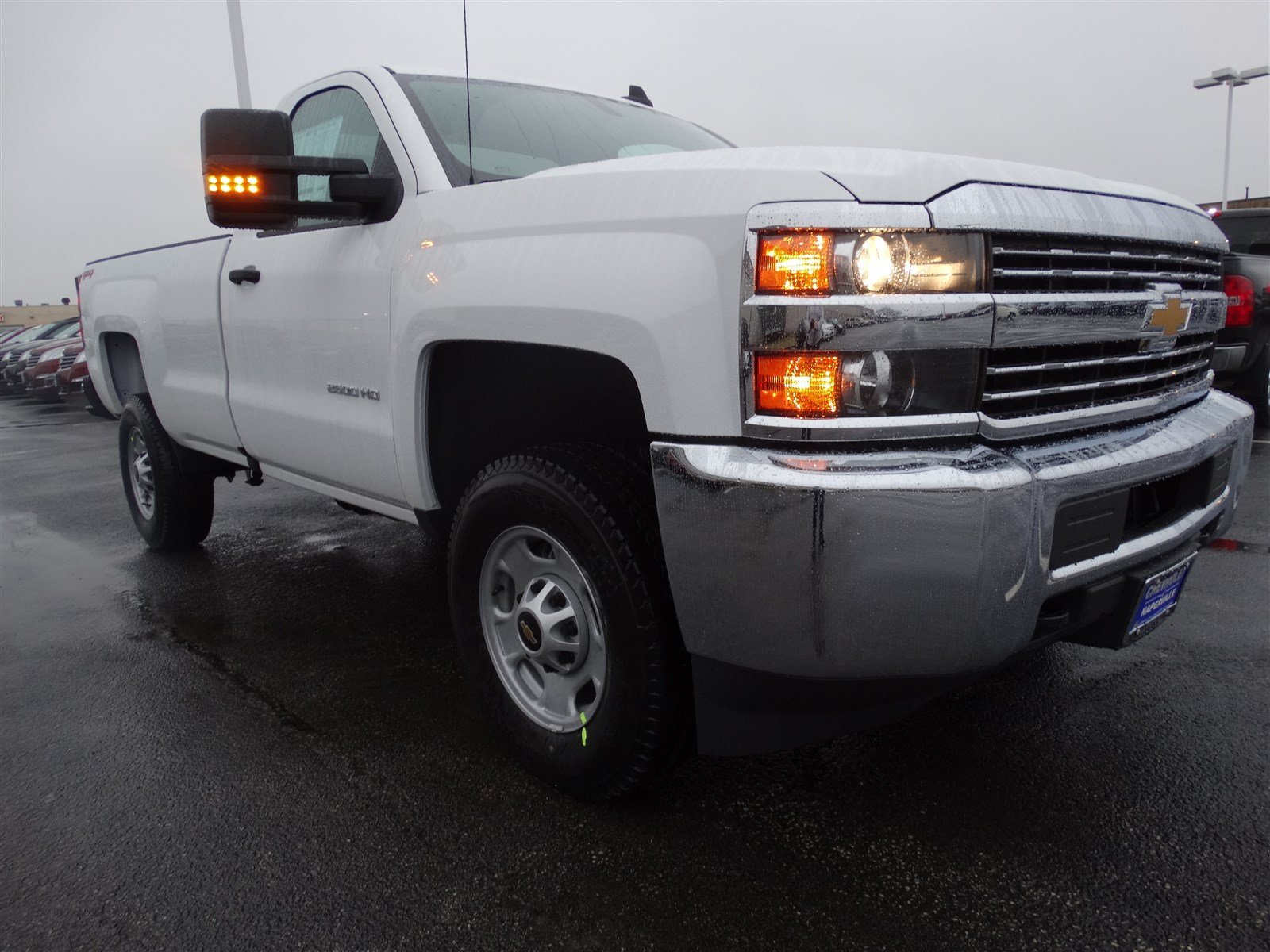 new 2017 chevrolet silverado 2500hd work truck regular cab pickup in naperville t6183. Black Bedroom Furniture Sets. Home Design Ideas