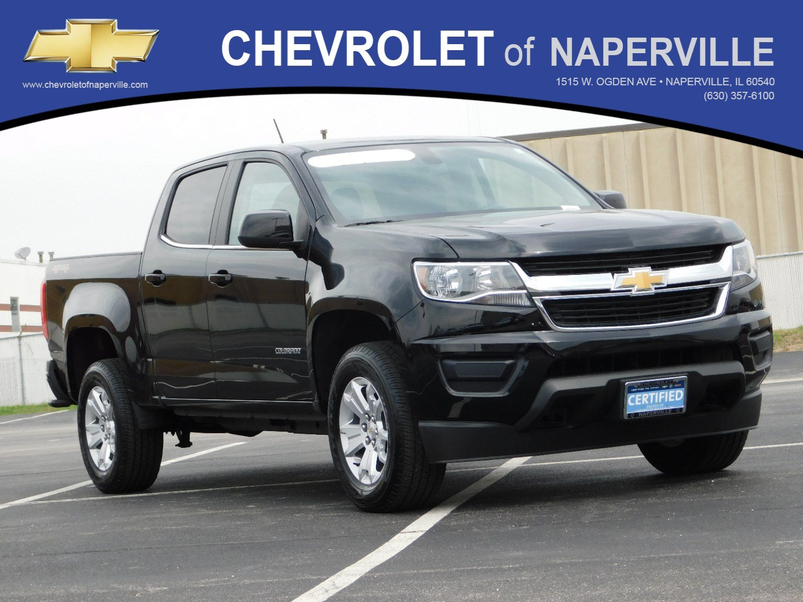 Certified Pre-Owned 2019 Chevrolet Colorado 4WD LT