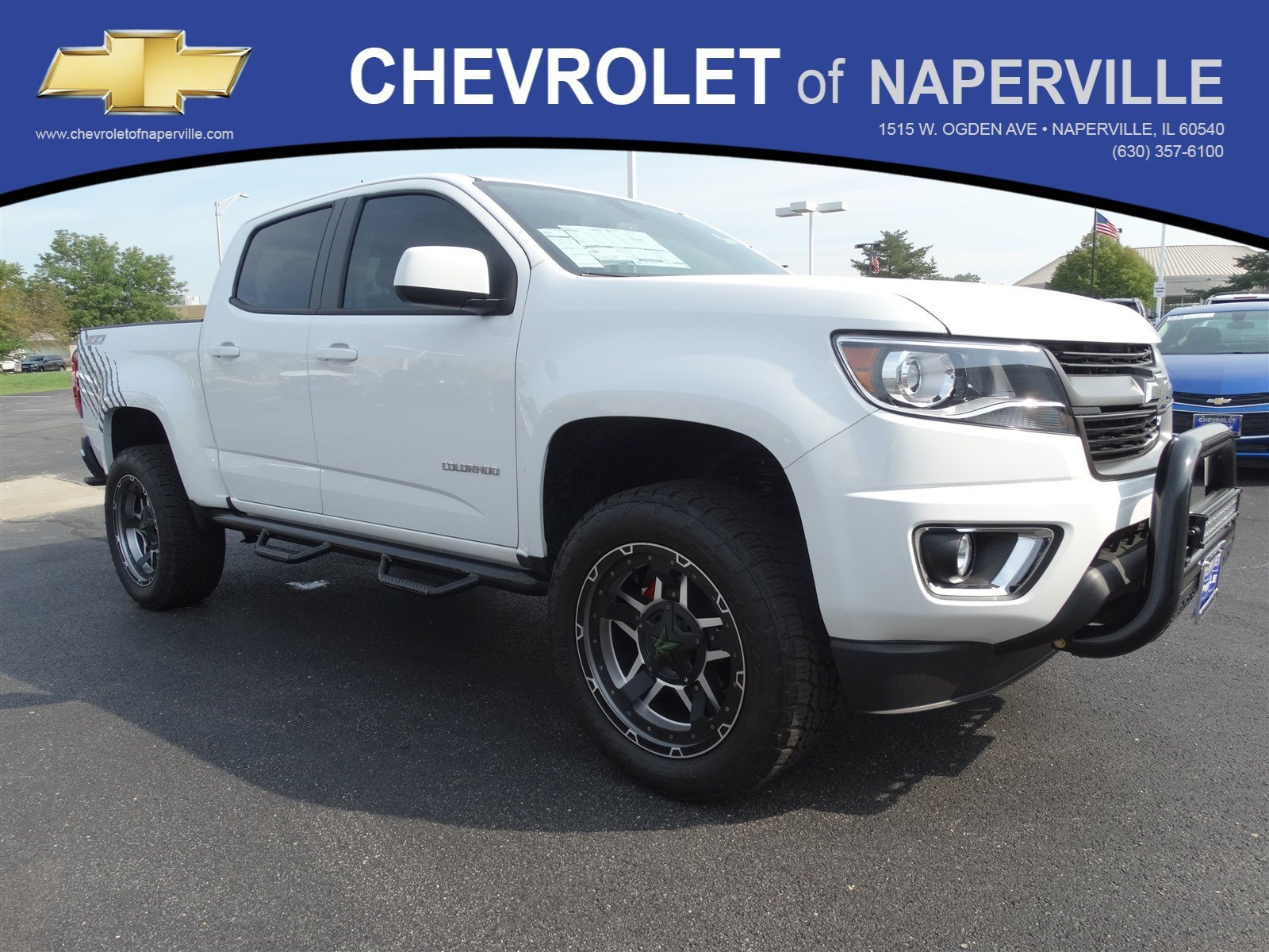 new 2017 chevrolet colorado 4wd z71 crew cab pickup in naperville t6193 chevrolet of naperville. Black Bedroom Furniture Sets. Home Design Ideas