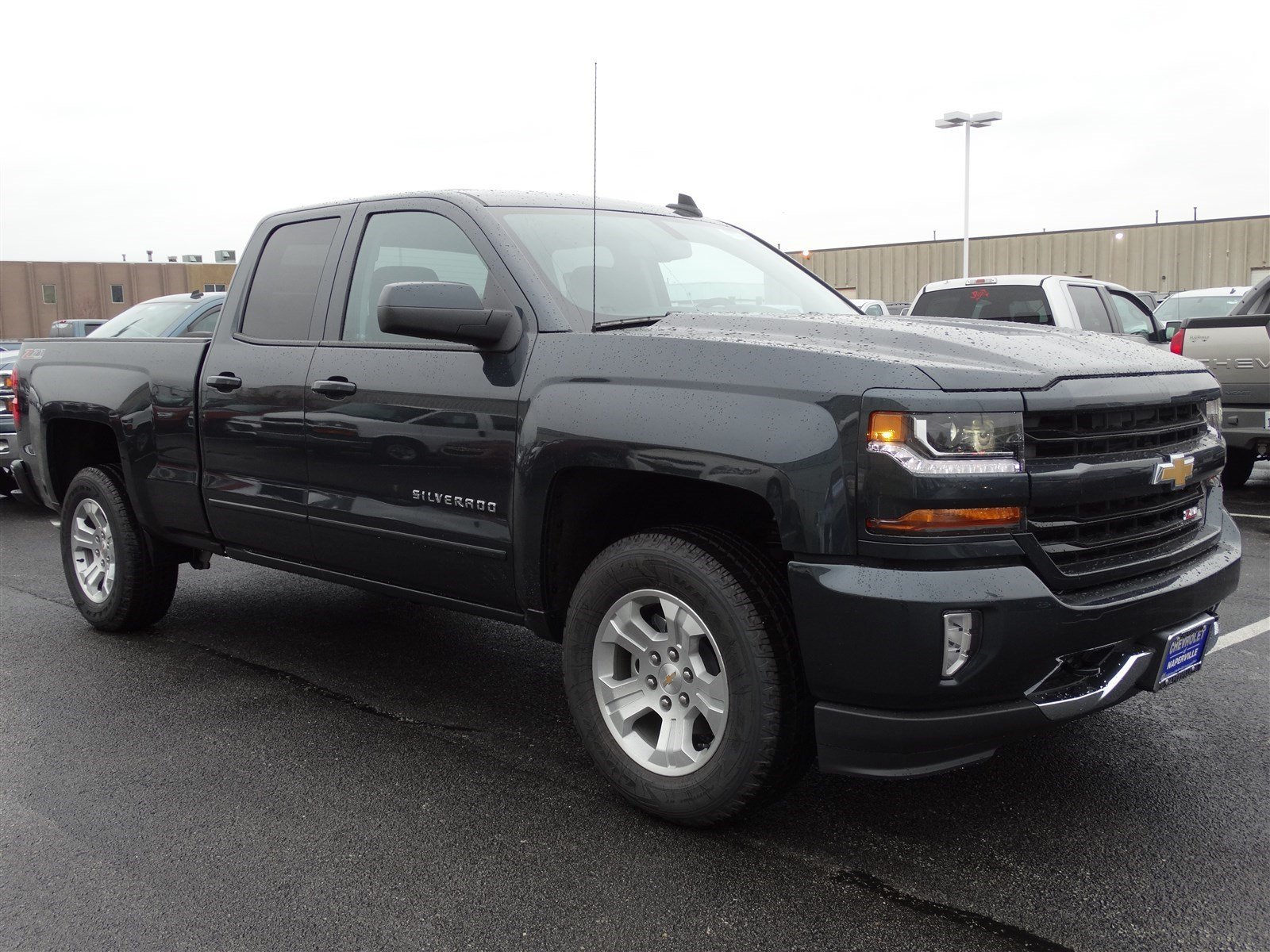 new 2017 chevrolet silverado 1500 lt extended cab pickup in naperville t5994 chevrolet of. Black Bedroom Furniture Sets. Home Design Ideas