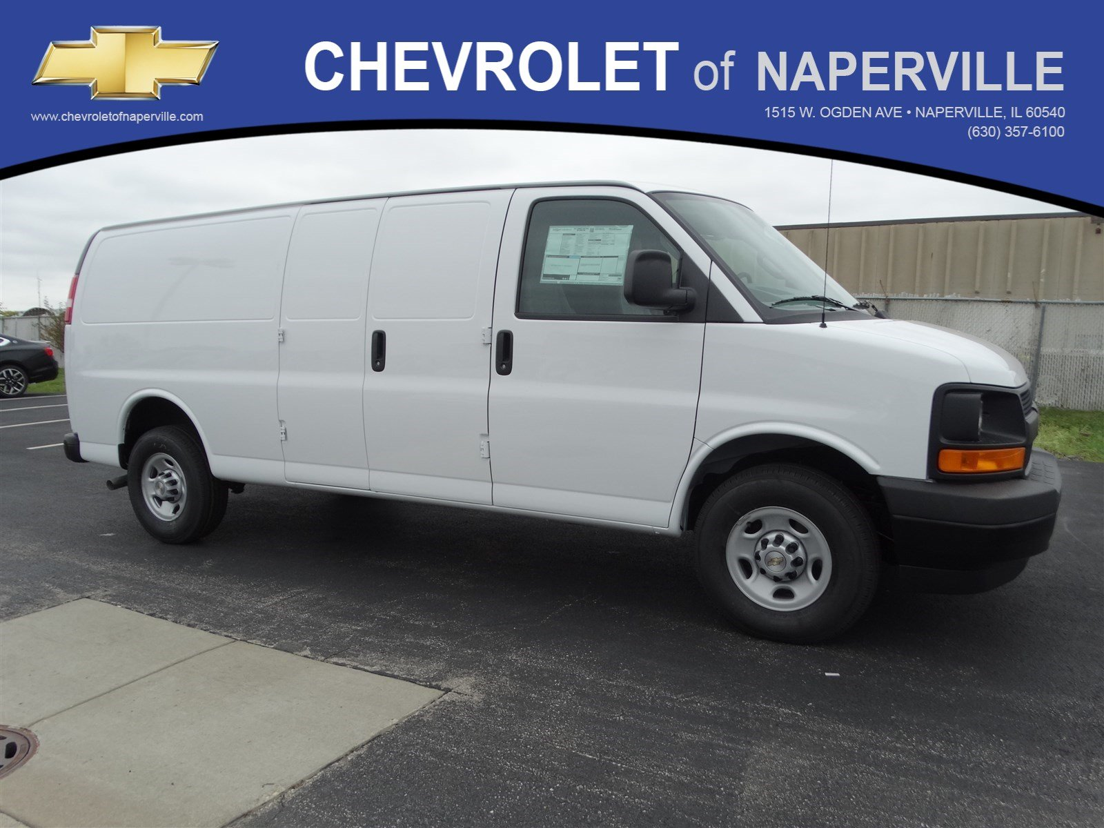 Chevrolet Of Naperville >> New 2017 Chevrolet Express Cargo Van Full-size Cargo Van in Naperville #T5919 | Chevrolet of ...