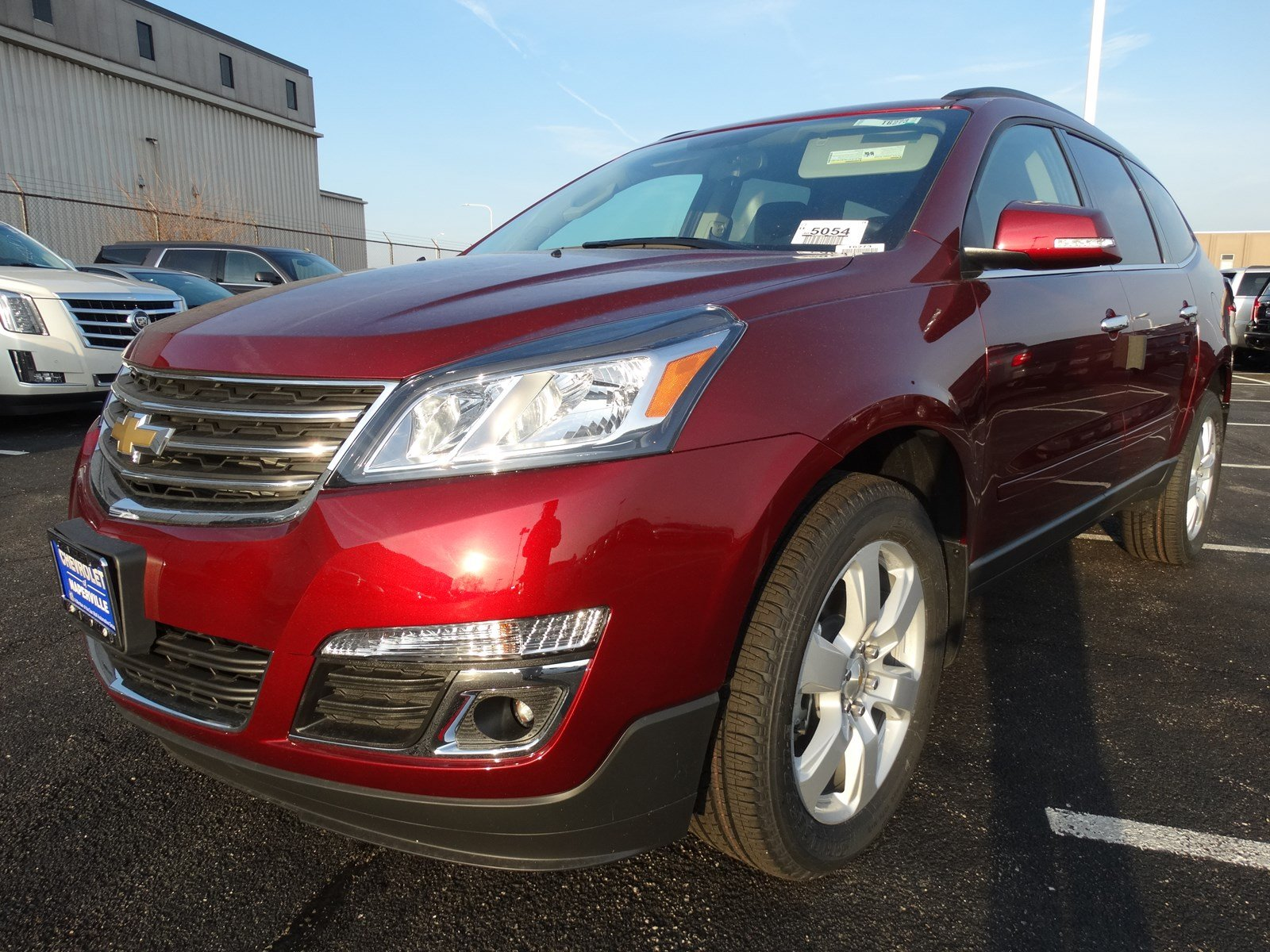 New 2017 Chevrolet Traverse LT Sport Utility in Naperville #T6273 Chevrolet of Naperville