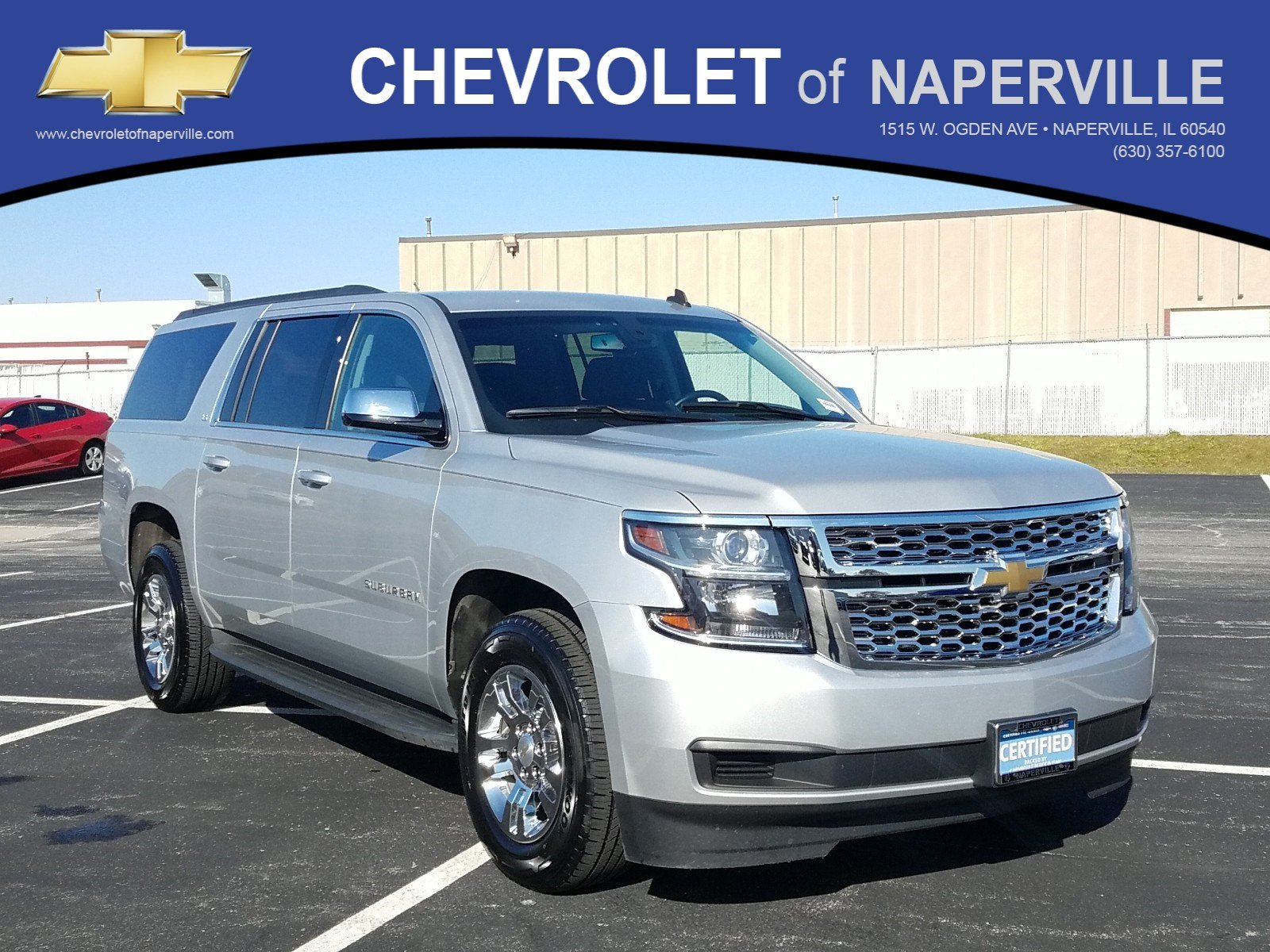 Certified Pre-Owned 2015 Chevrolet Suburban LS