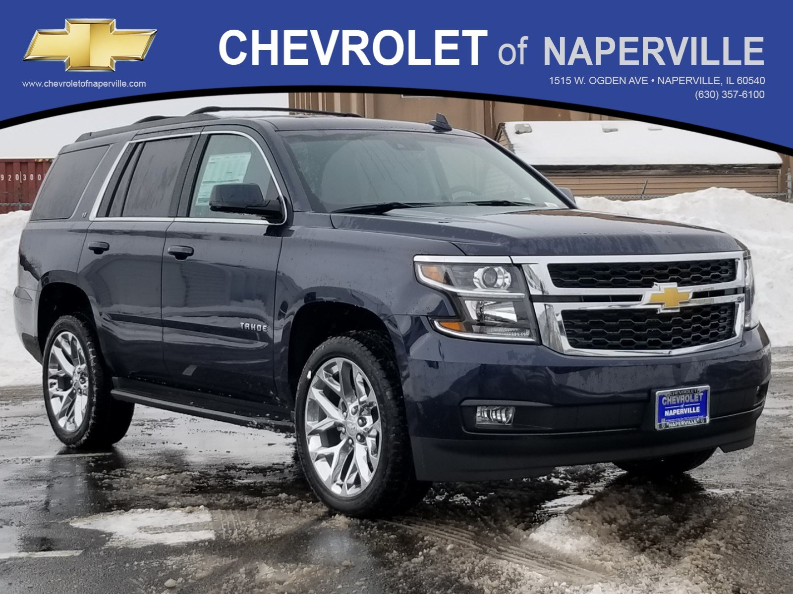 New 2019 Chevrolet Tahoe Lt Sport Utility In Naperville T9532