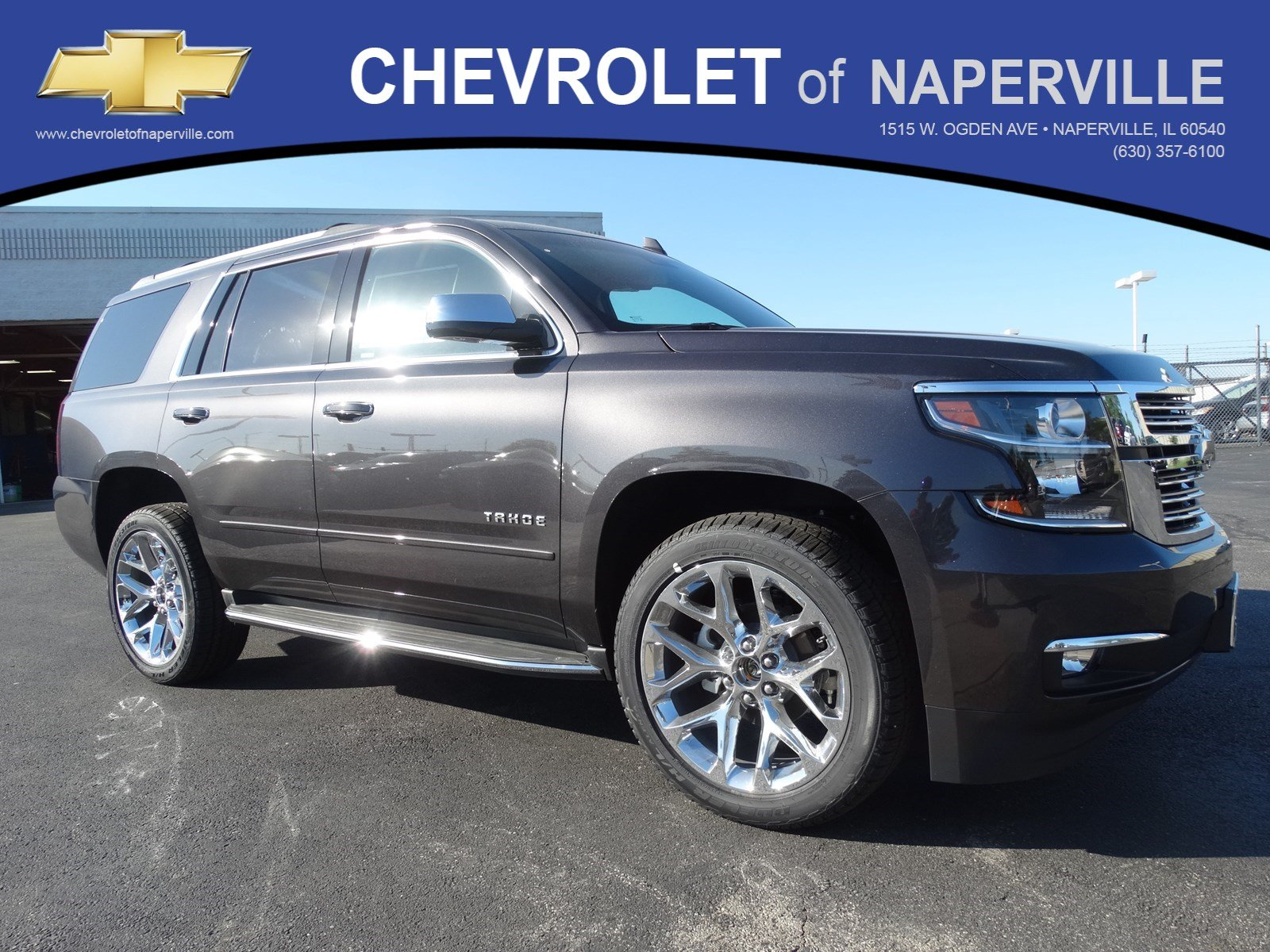 new 2017 chevrolet tahoe premier sport utility in naperville t6429 chevrolet of naperville. Black Bedroom Furniture Sets. Home Design Ideas