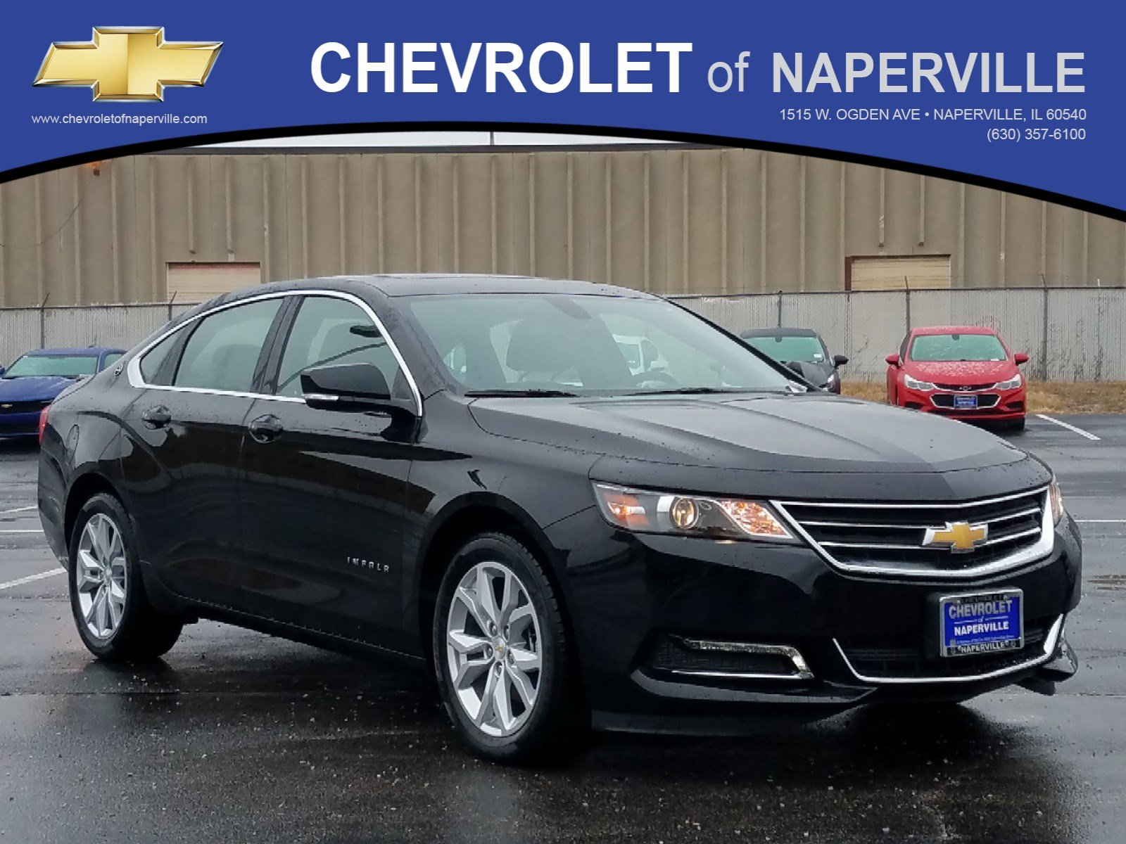 New 2019 Chevrolet Impala Lt 4dr Car In Naperville C6173