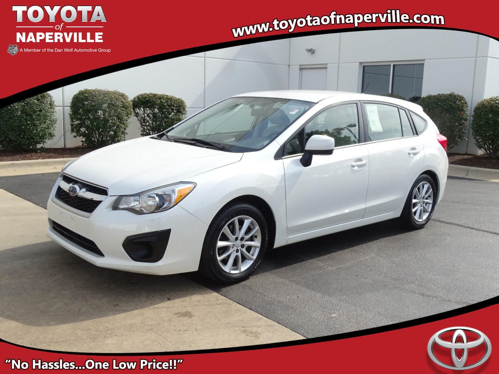 Pre Owned 2013 Subaru Impreza 2 0i Premium 4D Hatchback in