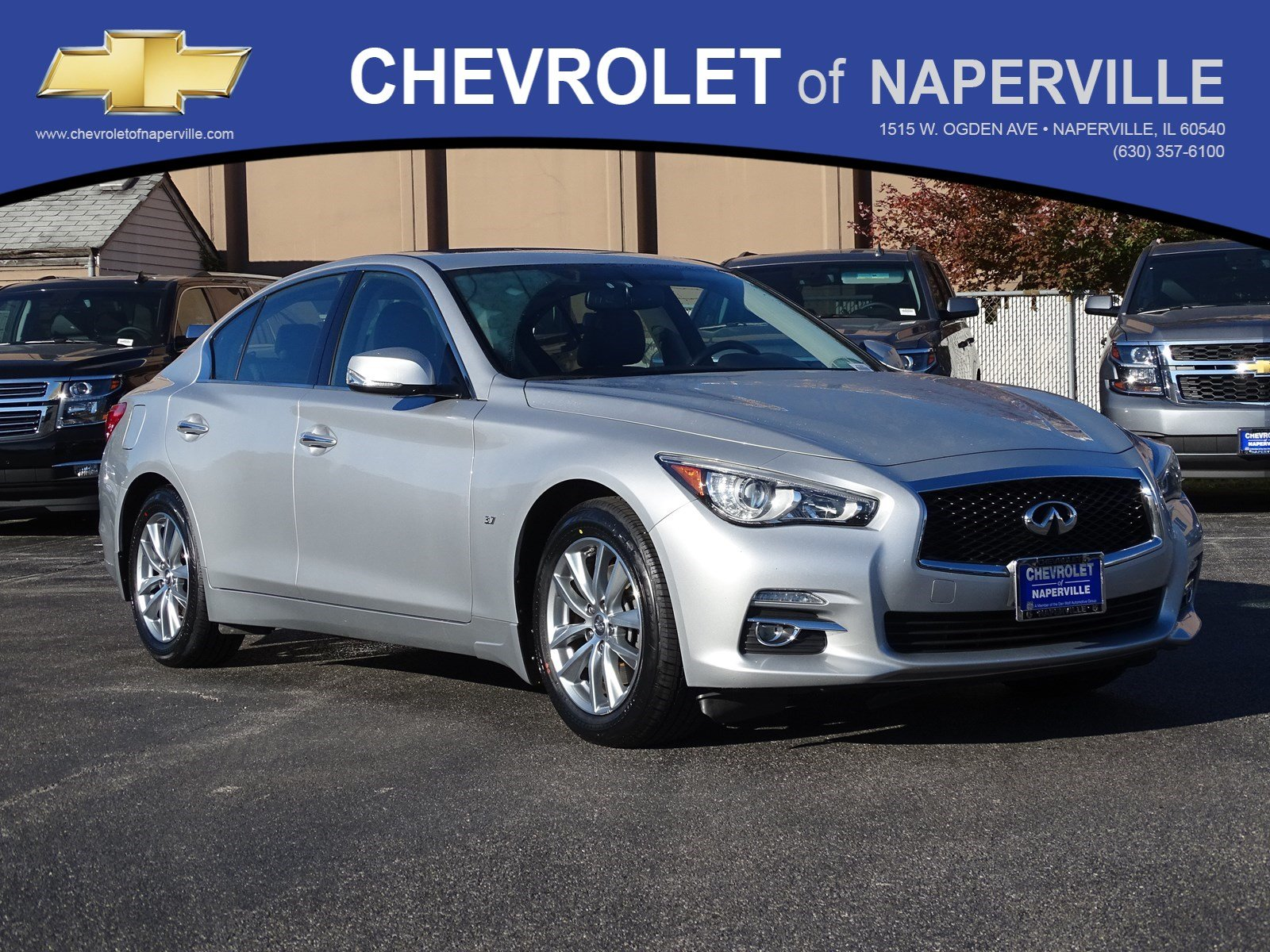 Pre Owned 2014 INFINITI Q50 Premium 4dr Car in Naperville P7900