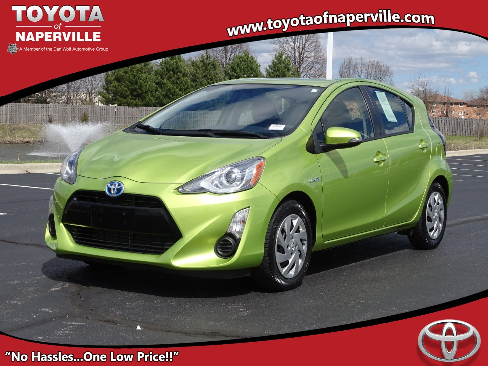 Certified Pre Owned 2017 Toyota Prius C One