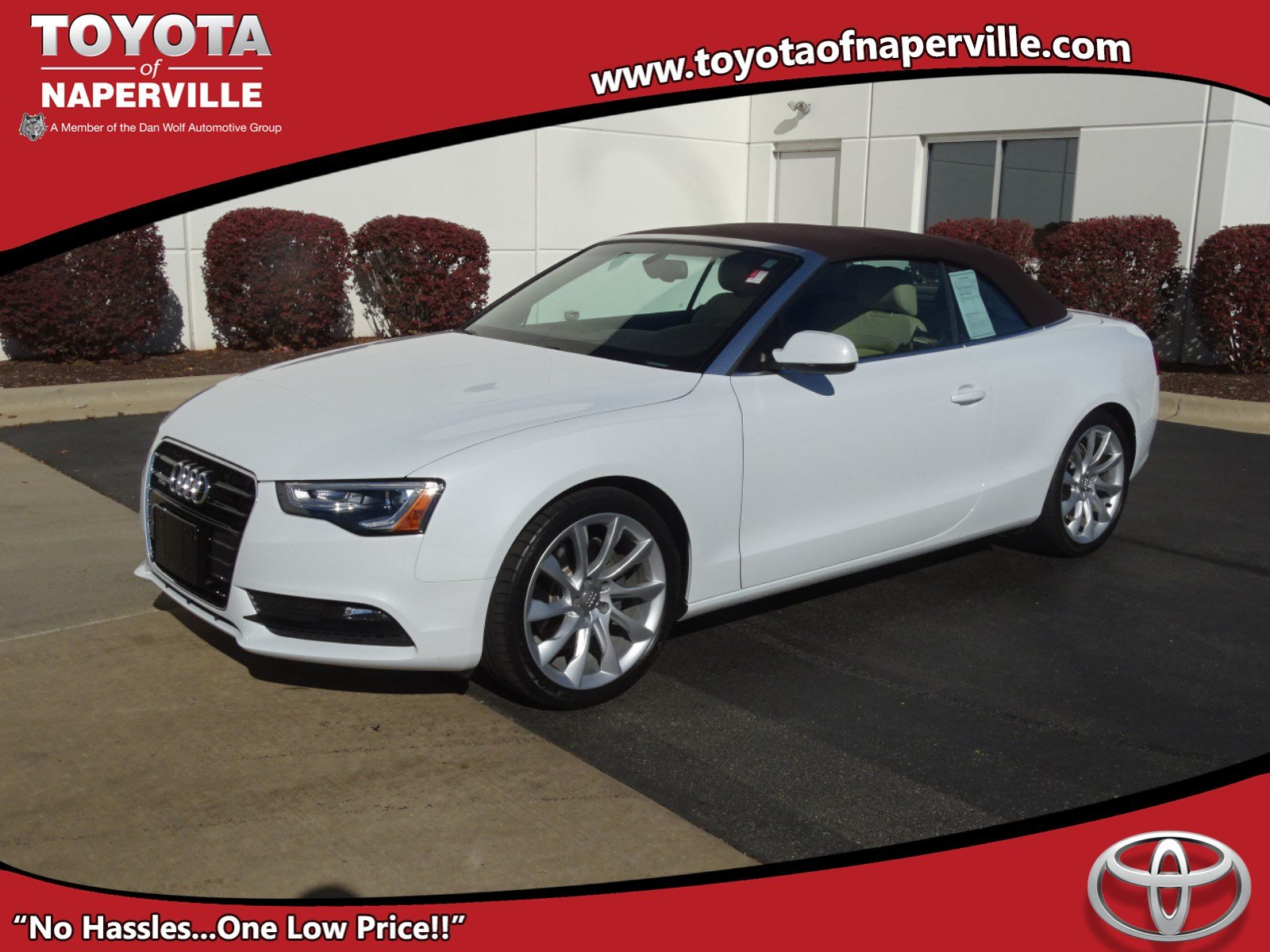 Pre Owned 2014 Audi A5 2 0T Premium Plus 2D Convertible in