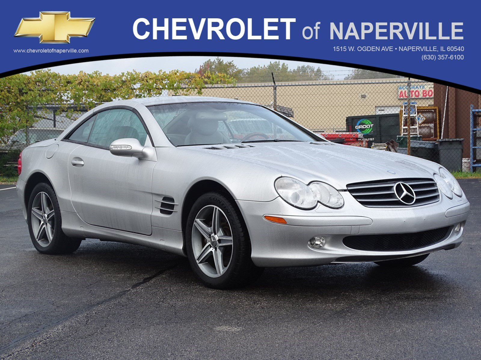 Pre Owned 2003 Mercedes Benz SL Class SL 500 Convertible in