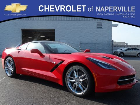 New 2018 Chevrolet Corvette Z51 2LT