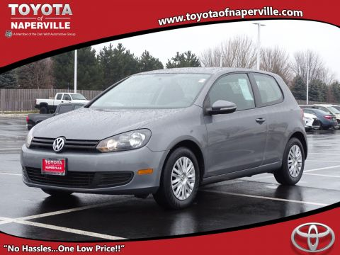 Pre-Owned 2012 Volkswagen Golf w/Conv & Sunroof